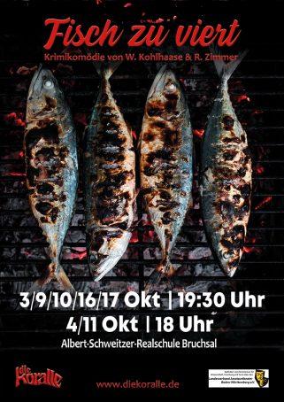 Fisch zu Viert